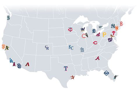 mlb map mlb geographic realignment just what sport needs inside the lyons den