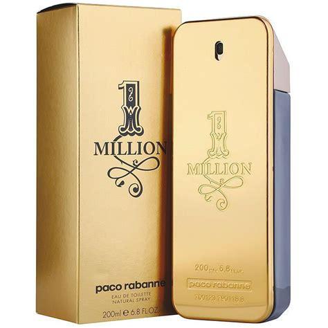 parfum pour homme paco rabanne one million eau de toilette edt vapo 200 ml crivelli shopping
