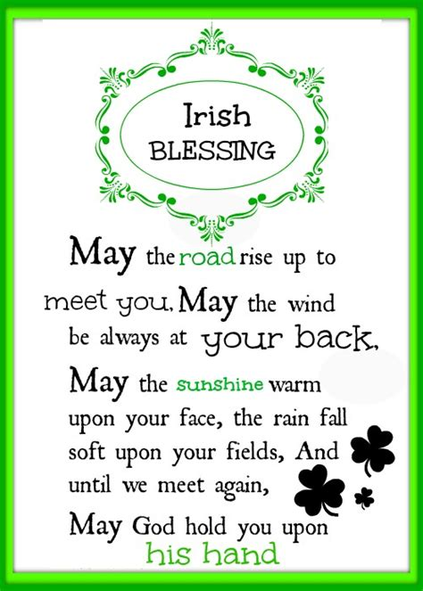 irish printable quotes quotesgram
