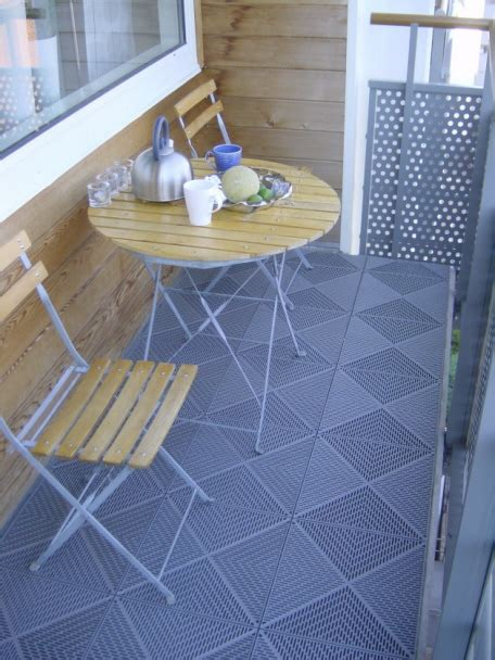 kunststoff bodenfliesen balkon balkon bodenbel 228 ge dekor boden de
