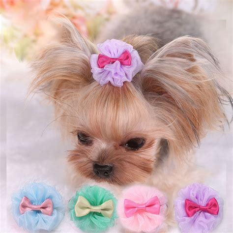 hair bows for yorkies popular yorkie hair bows buy cheap yorkie hair bows lots from china yorkie hair bows