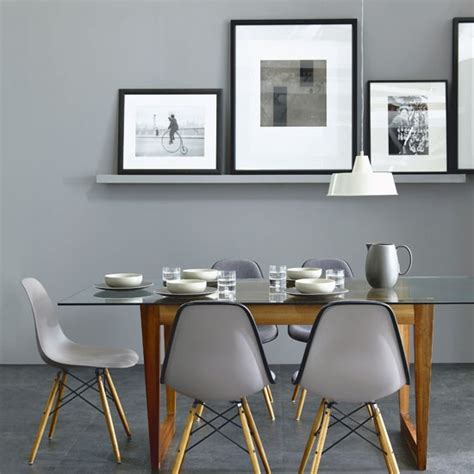 Modern Grey Dining Room Chic Grey Dining Room Simple Dining Room Housetohome Co Uk