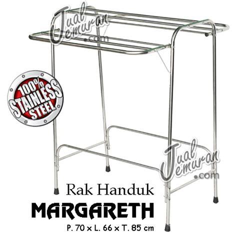 Jemuran Handuk Stainles Jual Rak Handuk Margareth 100 Stainless Steel Jualjemuran