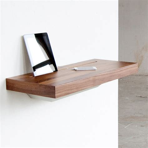 Shelf S Secret by Secret Storage Smart Device Charging Shelf Hides Cords