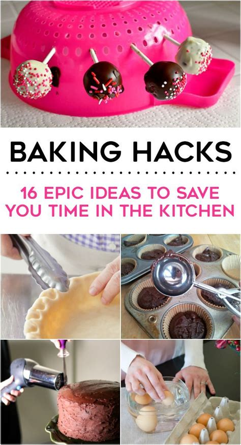 baking hacks 16 epic baking hacks baking hacks cake and food