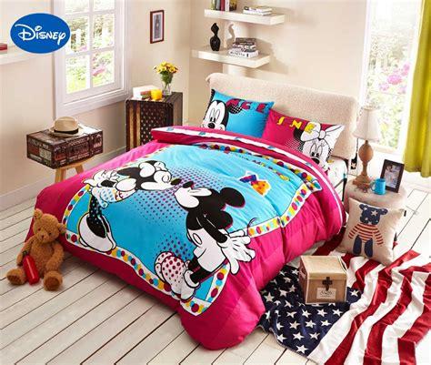 disney prints bedding set cotton polka dot