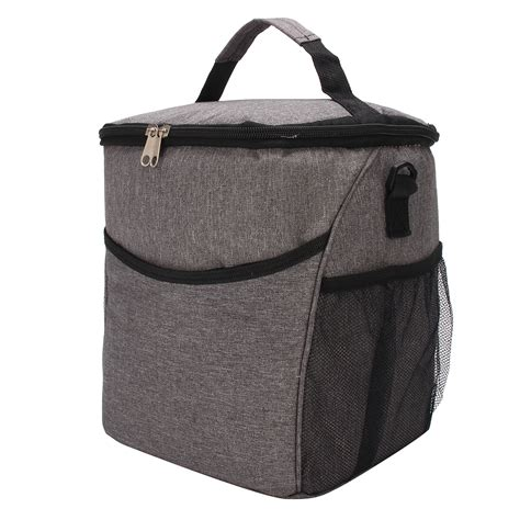 Iconic Insulated Lunch Picnic Bag Cooler Japanese Free Gel 2 tote cold insulated thermal cooler travel work picnic school lunch box bag travel supplies