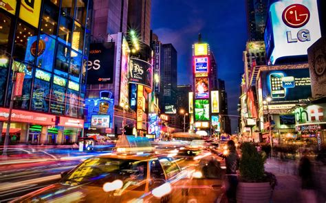 colorful pictures colorful times square new york wallpaper 32990