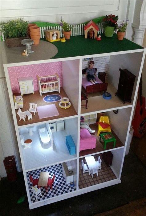 where to buy a doll house b 252 cherregal als puppenhaus toll die led lichter r 228 ume wohnung pinterest led licht