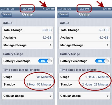 Resetting Battery Usage Iphone | fixed iphone 5 battery draining very fast