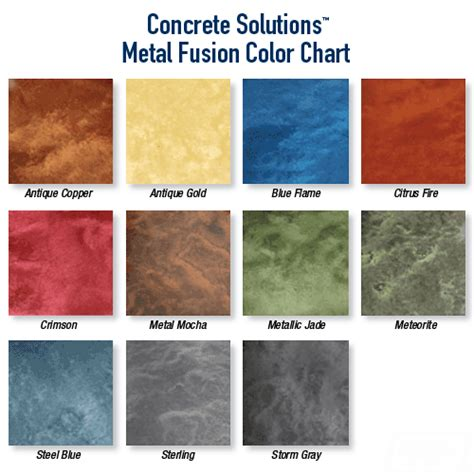 metal fusion system concrete solutions metallic epoxy flooring
