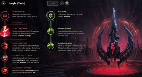 season  standard rune pages runes reforged league