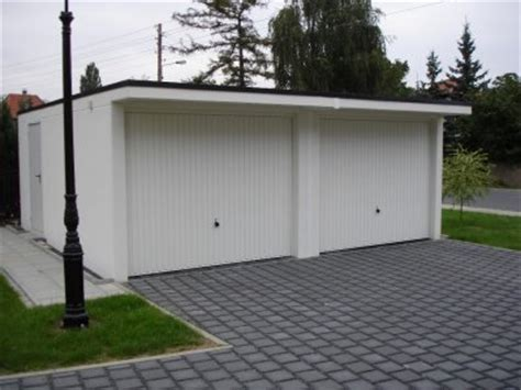 garagen klaus betongarage oder stahlgarage welche fertiggarage ist