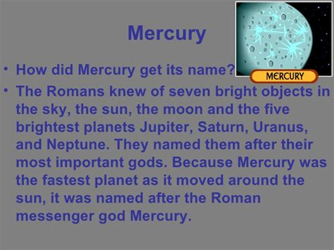 how to a its name mercury science project gerardo aguirre
