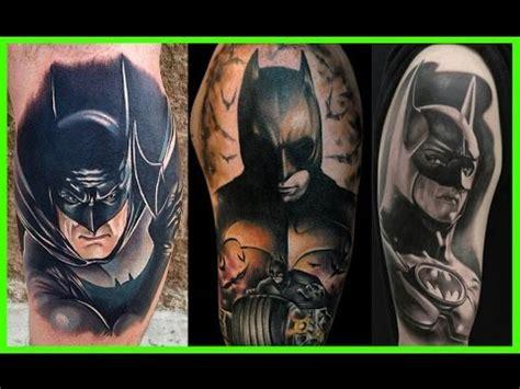 batman para tattoo mejores tatuajes de batman youtube