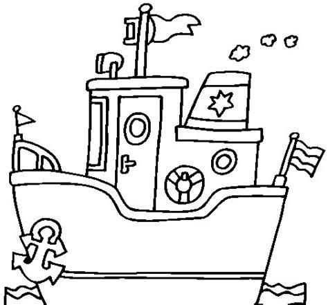 dibujo de barco con ancla para colorear dibujos net - Barco Con Ancla Dibujo