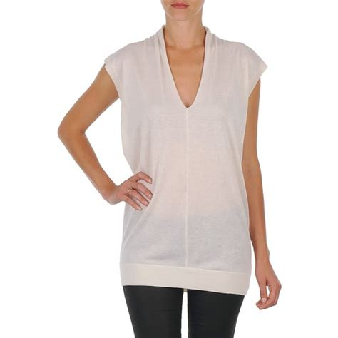 Tunic Nk Joseph V Nk Tunic White Free Delivery With Spartoo Uk