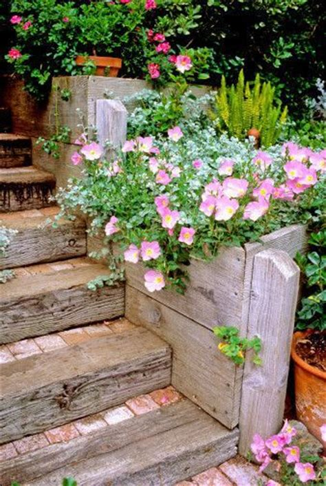 1000 ideas about railroad ties landscaping on