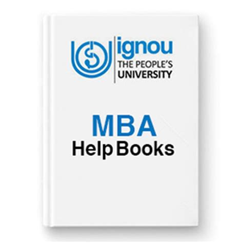 Ignou Mba Books by Ignou Books Help Guides 2016 17 Exams Preparation Study