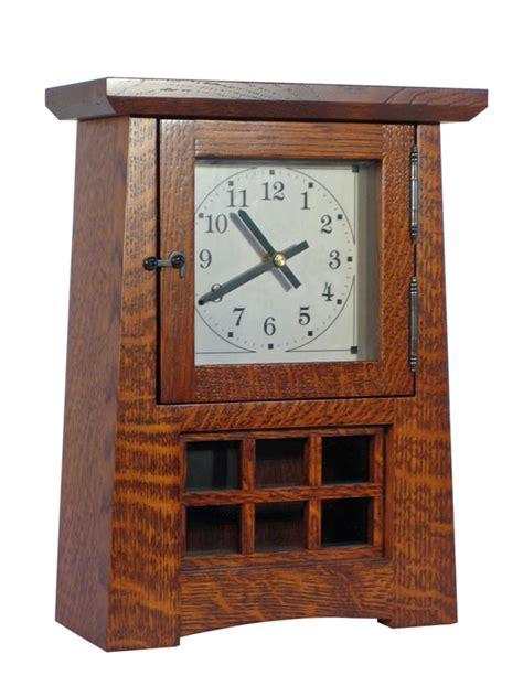 Help Desk Associate Arts Amp Crafts Pendulum Clock Ohio Hardword Amp Upholstered