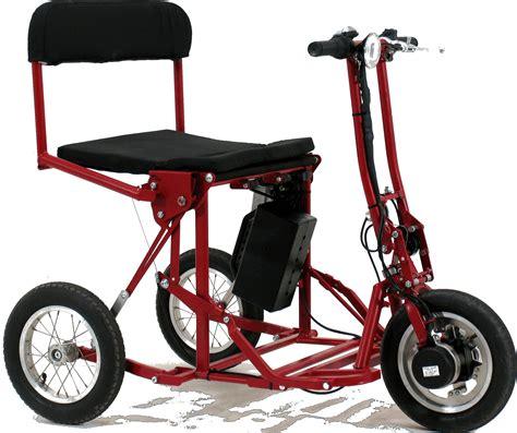 Di Blasis Motorized Folding Tricycle folding tricycles di blasi