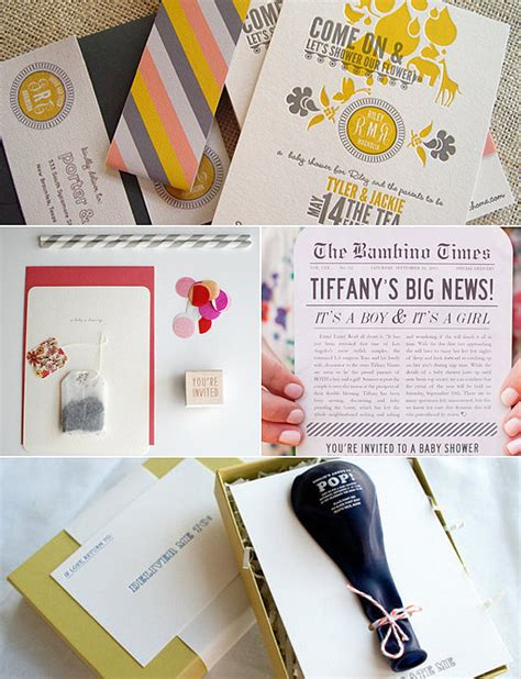 Unique Baby Shower Invitations by Unique Baby Shower Invitations