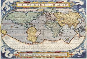 antique maps of the worldmap of the worldabraham orteliusc
