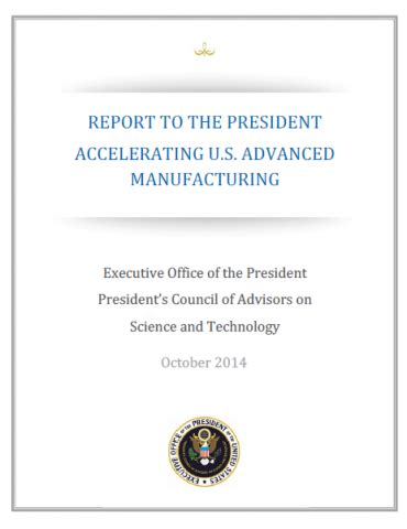 advanced manufacturing the new american innovation policies mit press books advanced manufacturing office update january 2015