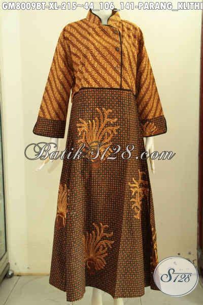Gamis Batik Wanita Dewasa abaya batik wanita dewasa gamis batik wanita berhijab bahan halus dual motif parang klithik