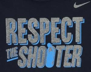 T Shirt Kaos Nike Respect nike respect the shooter t shirt weartesters