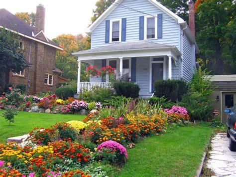 Garden Decoration Canada by A Fall Garden In Canada A Photo From Ontario Central
