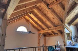 craftsman style beam ceiling