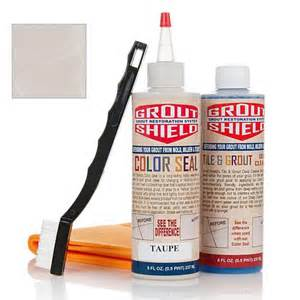 color seal grout restoration kit 6497211 hsn