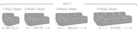 medidas sofas 2 plazas funda de sofa el 193 stica mariposas