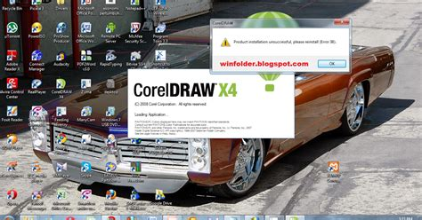 corel draw x4 error 38 windows 7 coreldraw x4 38 lephysic