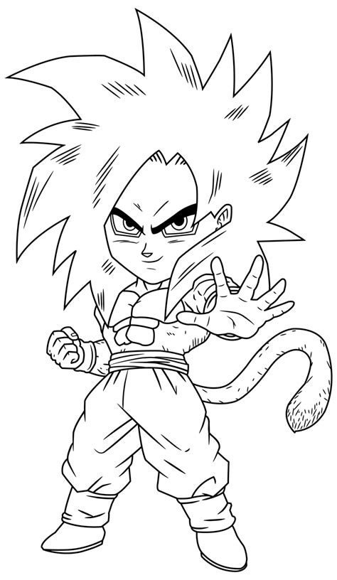 goku ss4 coloring pages ssj4 gogeta coloring pages coloring home