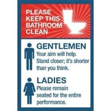 bathroom clean up signs pinterest the world s catalog of ideas