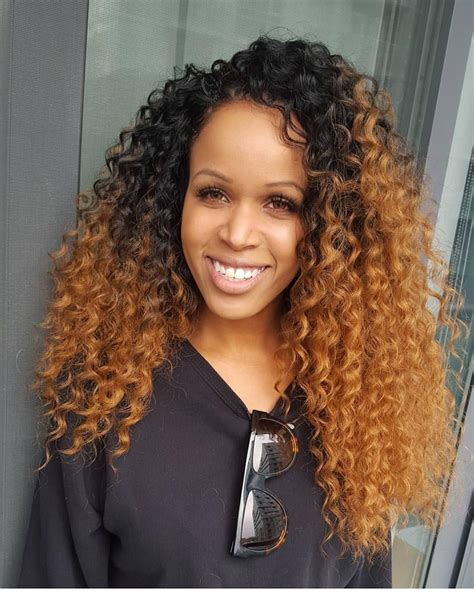 crochet hairstyles curly hair no leave out crochet braids by crownedbyd curly hair