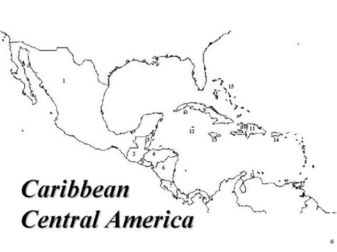 interactive map of central america and caribbean best photos of blank map of caribbean and central america