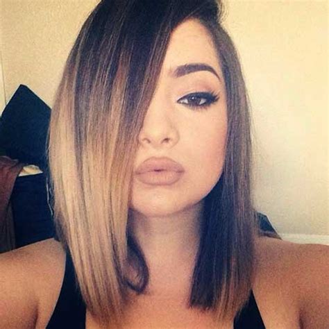 ombre hair color on a bob ombre hair short the best short hairstyles for women 2016