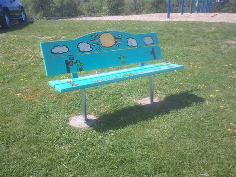 buddy bench 17 best images about buddy benches on pinterest