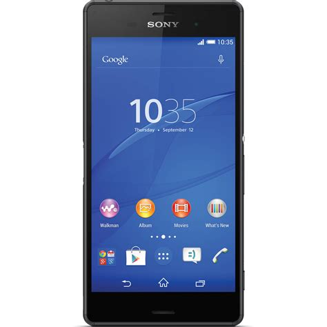 Hp Sony Z3 Dual sony xperia z3 dual d6633 16gb smartphone 1289 5363 b h photo