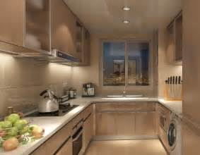 Interior Of Kitchen Kitchen Interior Design Rendering With Fruit Decoration