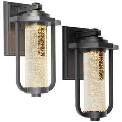 exterior wall lights artcraft ac9012 traditional 8 wide led exterior