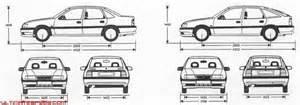 Vauxhall Vectra Length 1989 1995