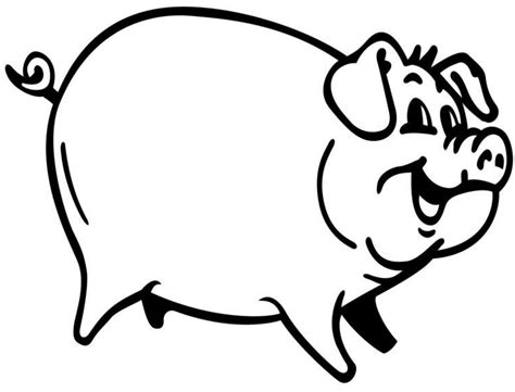 Coloring Page Of A Pig Pig Coloring Pages Coloringpages1001 Com by Coloring Page Of A Pig