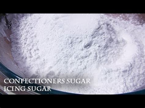 Confectioners Sugar Shelf by Rock Confectionery