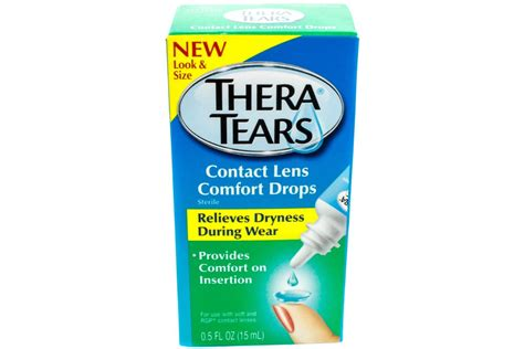 what is contact comfort thera tears contact lens comfort drops 5 oz