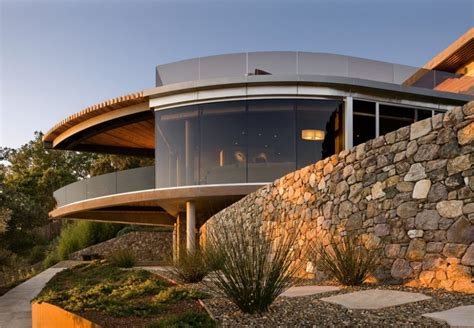 glass houses stones coastlands house a coastal home made of glass and stone in california