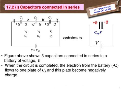 capacitors in series and parallel equations ppt 17 1 capacitors 17 2 capacitors in series and parallel powerpoint presentation id 2689402